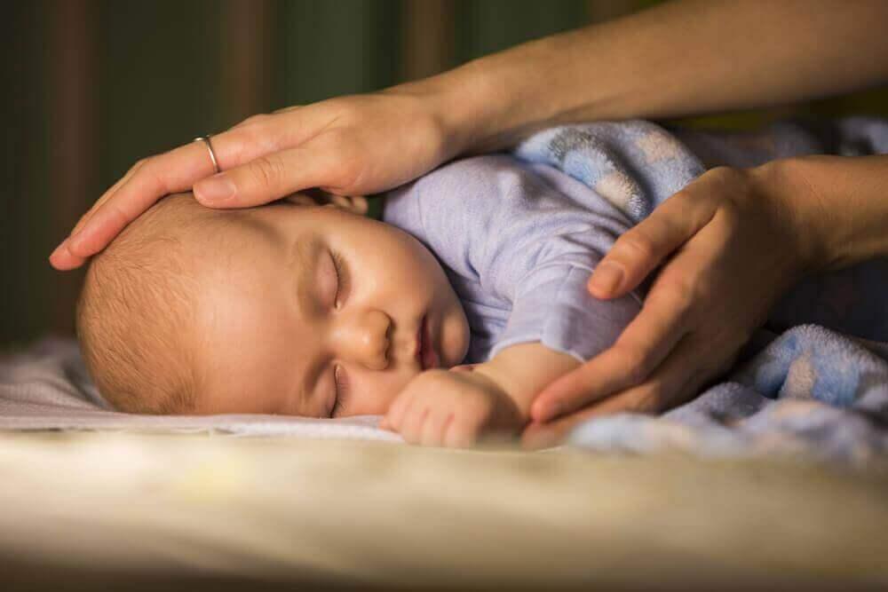 μωρό που κοιμάται