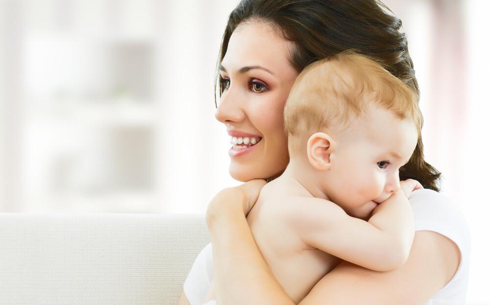 μωρό και νέα μαμά