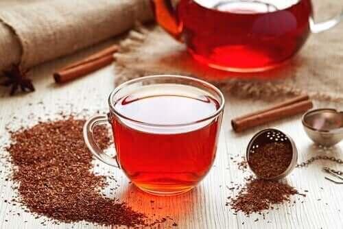 Κόκκινο τσάι ρόιμπος