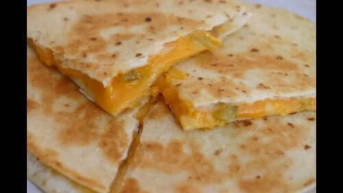 Κεσαδίγιας με τυρί