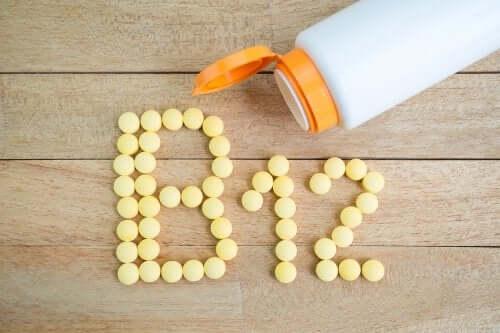 Βιταμίνη Β12 σε ταμπλέτες