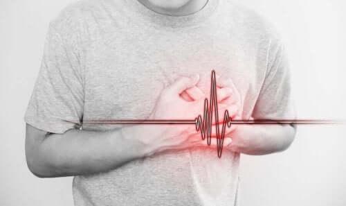 Άνδρας με πρόβλημα στην καρδιά
