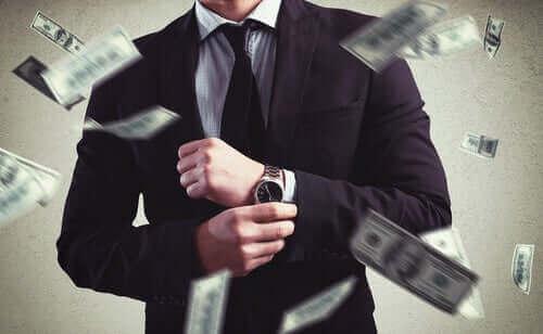 Άνδρας με χρήματα