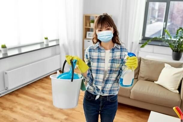 Κορωνοϊός: Πώς να απολυμάνετε το σπίτι σας