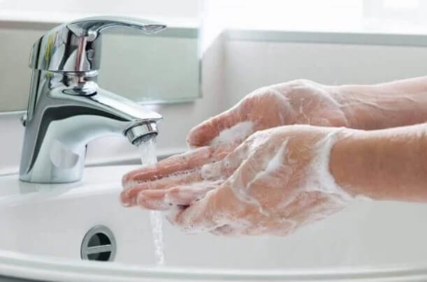 Σωστό πλύσιμο χεριών