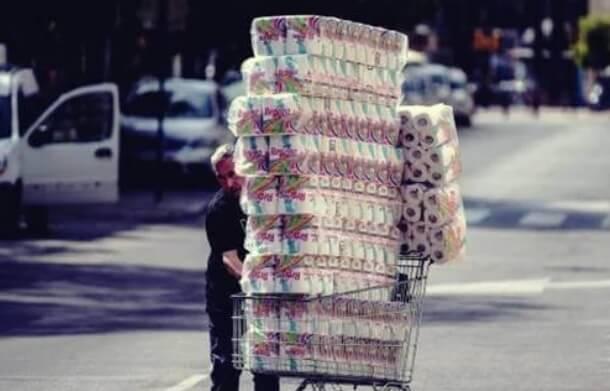 Γιατί αγοράζουν χαρτί υγείας