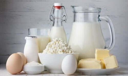 Διάφορα γαλακτοκομικά προϊόντα