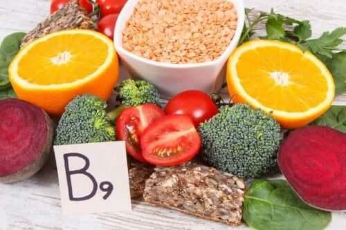 Πηγές βιταμίνης Β9