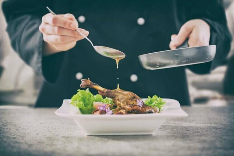 Προετοιμασία εκλεκτού πιάτου