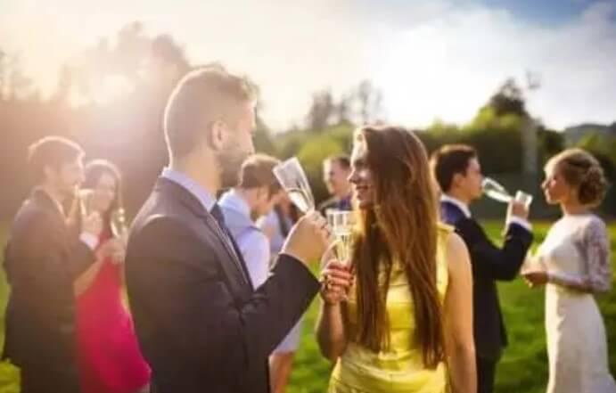 καλεσμένοι σε γάμο
