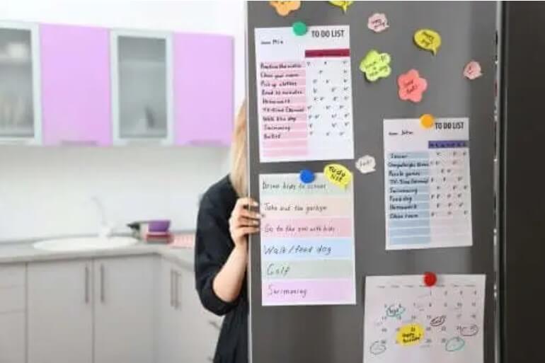 Πώς να φτιάξετε έναν οργανωτικό πίνακα για την κουζίνα