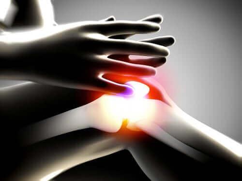 Ακτινογραφία δείχνει φλεγμονή στο γόνατο