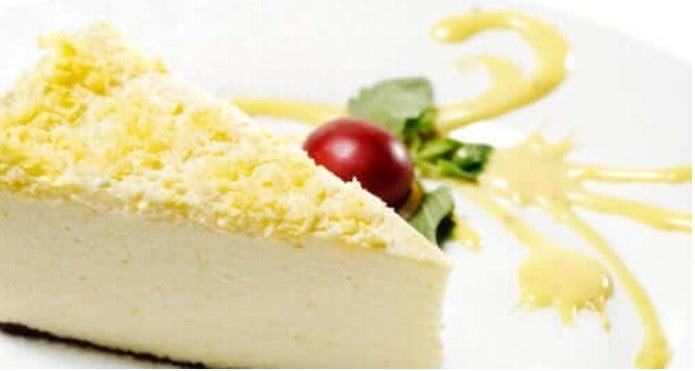 cheesecake με τζίντζερ