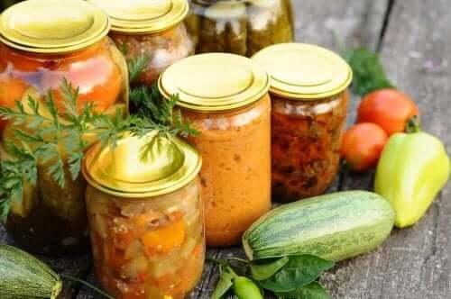 Κονσερβοποιημένα λαχανικά
