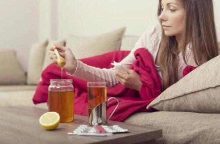 Τρεις θεραπείες με μέλι για την αντιμετώπιση της γρίπης