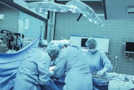 Χειρουργική επέμβαση σε εξέλιξη