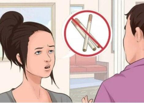 οχι στο κάπνισμα