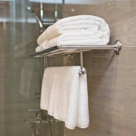 Πετσέτες στο μπάνιο