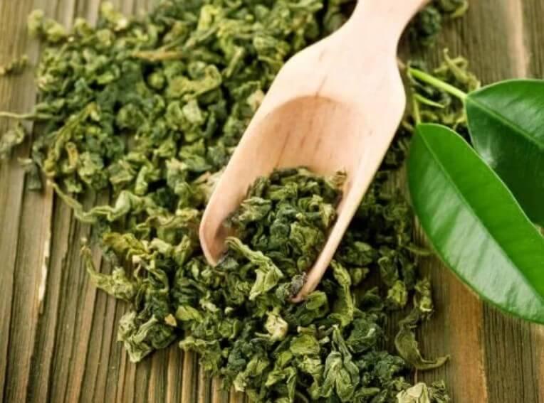 φύλλα από πρασινο τσάι