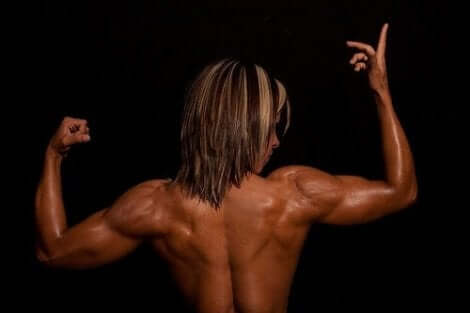 Γυναίκα bodybuilder