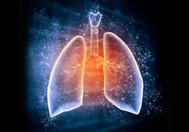 απεικόνιση πνευμόνων