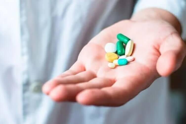 χάπια σε παλάμη