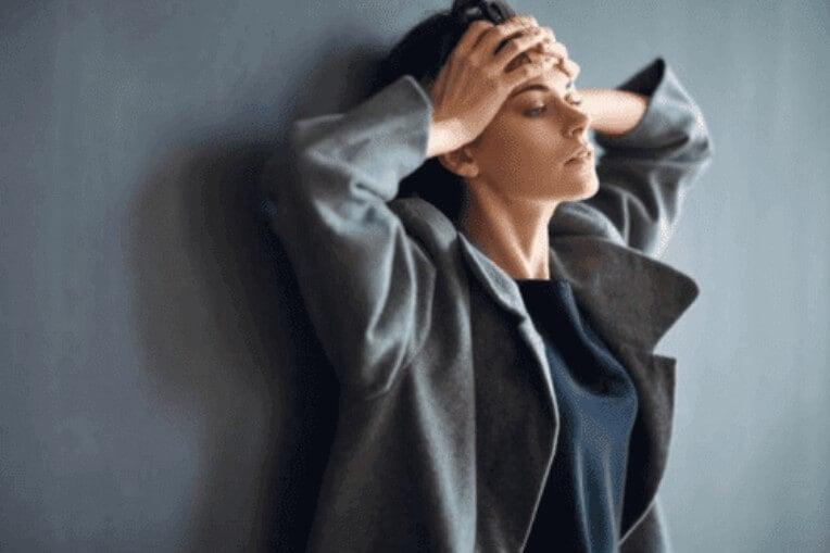 γυναίκα με άγχος