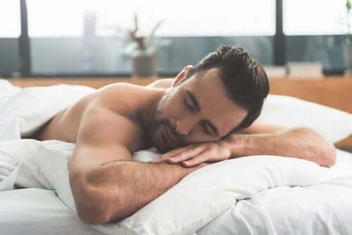 Άνδρας κοιμάται