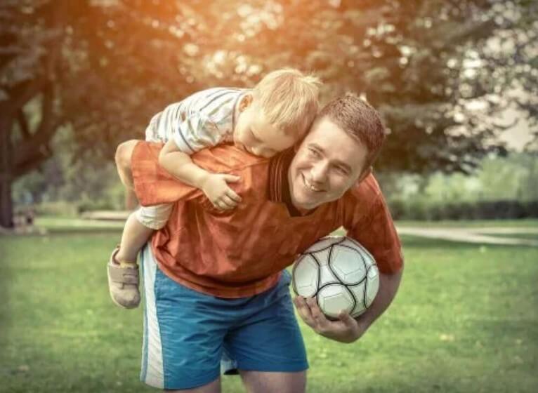 άσκηση με παιδιά