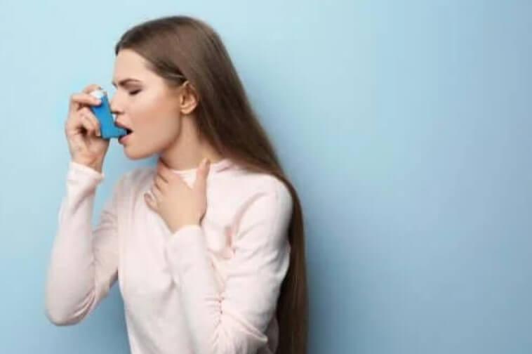 γυναίκα με άσθμα
