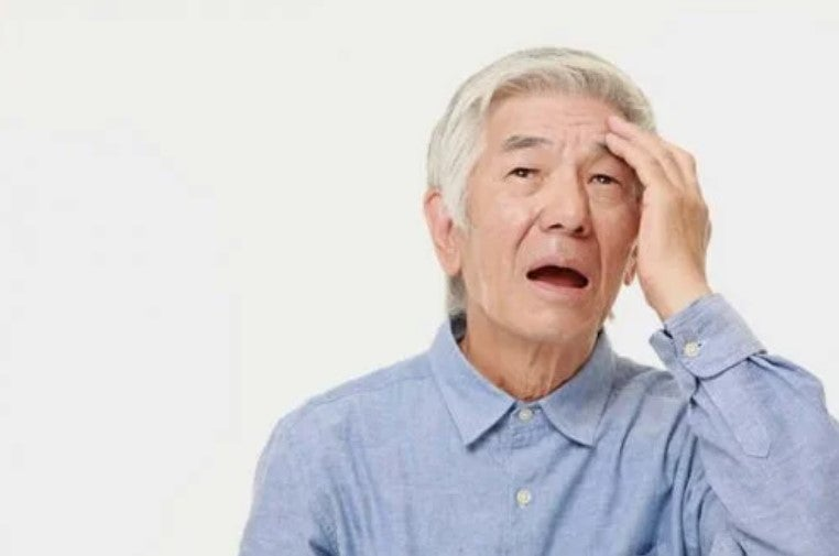 ηλικιωμένος με άνοια