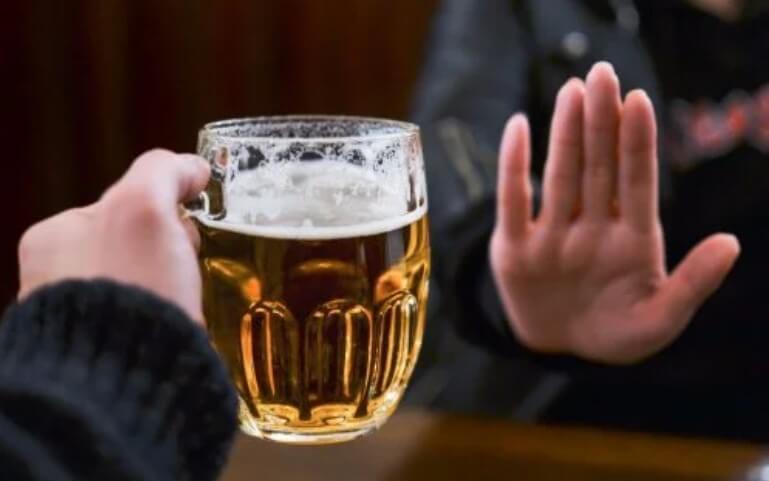 όχι στη μπύρα