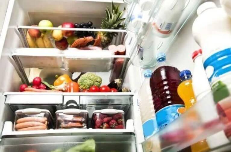 περιεχόμενα ψυγείου