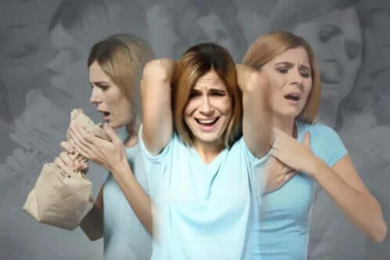 άγχος σε γυναίκα