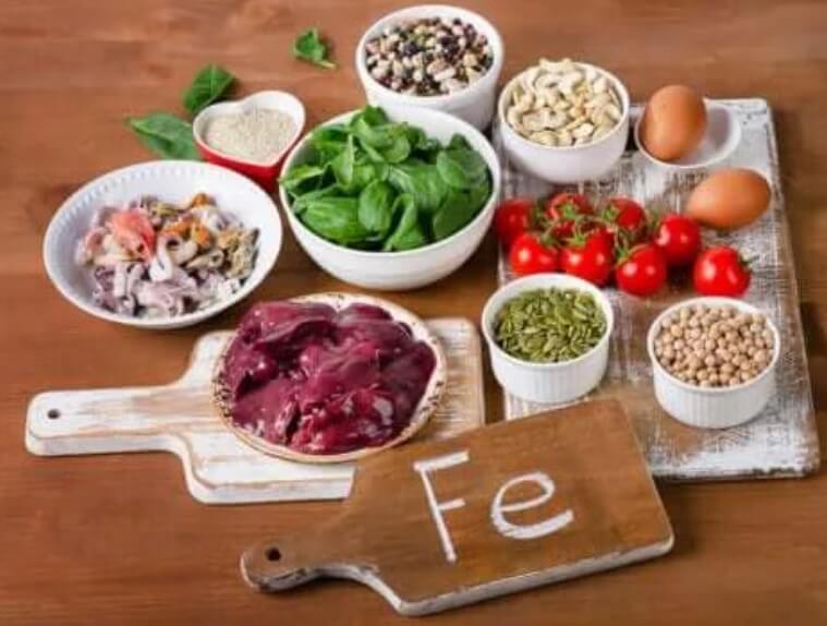 τροφές με ιχνοστοιχεία