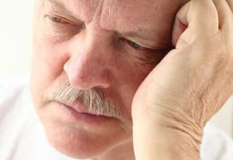 Άνδρας λυπημένος