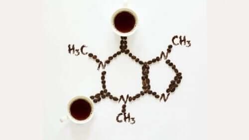 Χημική δομή καφεΐνης