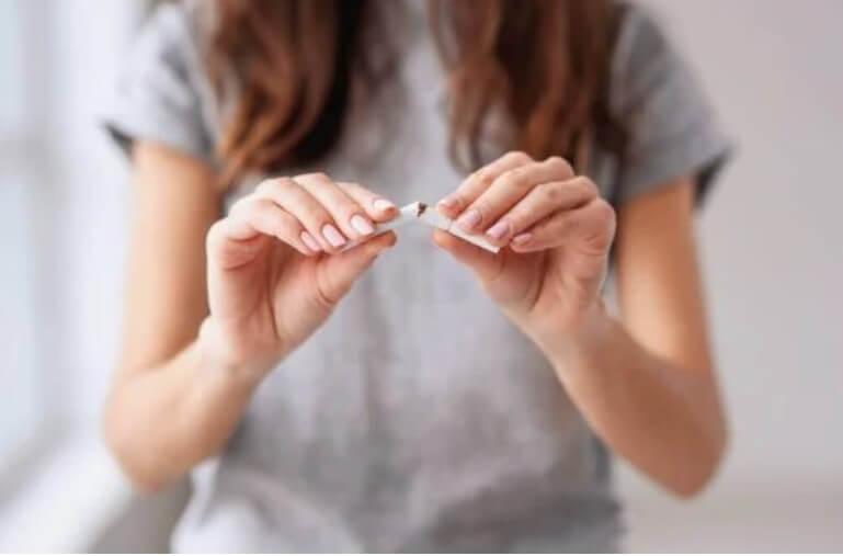 κόψιμο του τσιγάρου