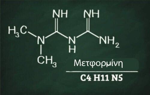 Σύνθεση της μετφορμίνης