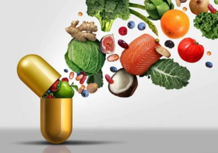 βιταμίνη και τροφές