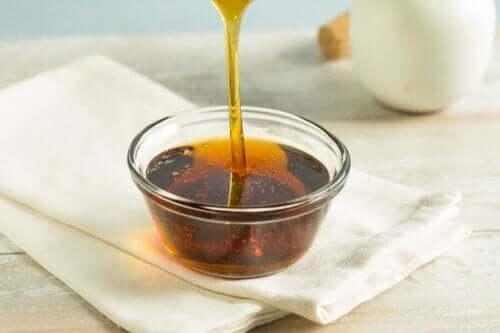 Ένα μπολ με μέλι