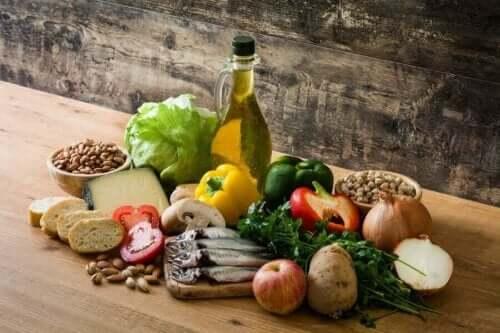 Φαγητά για Μεσογειακή διατροφή