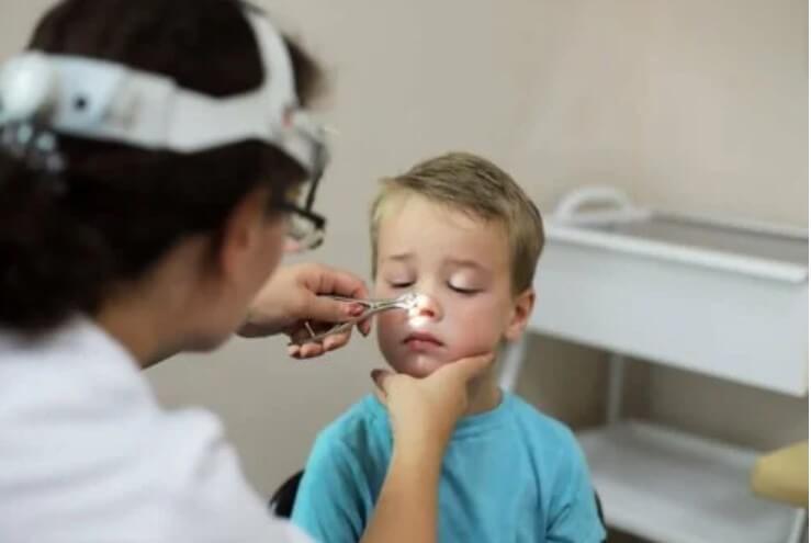 εξέταση σε παιδίατρο