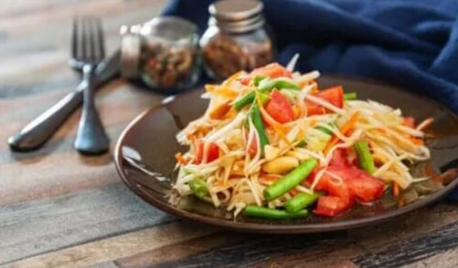 Σαλάτα από παπάγια: Μια γρήγορη και νόστιμη συνταγή