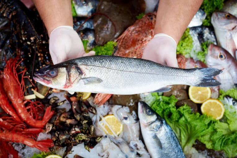 επιλογή ψαριών