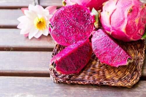 Ροζ φρούτο του δράκου: Ανακαλύψτε τις ιδιότητές του