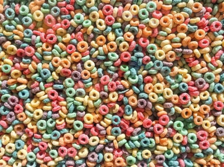 πολύχρωμα δημητριακά