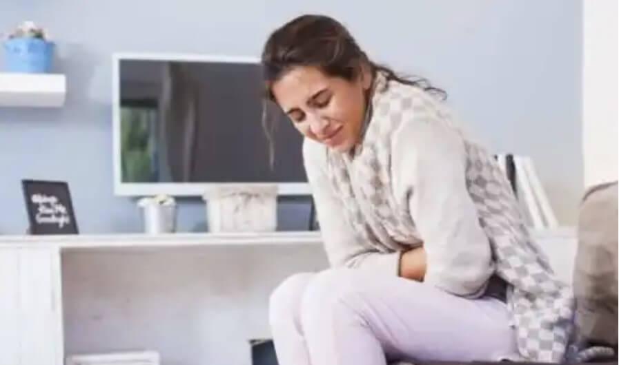 γυναίκα με διάρροια