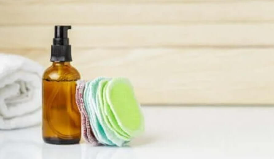 DIY επαναχρησιμοποιήσιμα μαξιλάρια αφαίρεσης μακιγιάζ