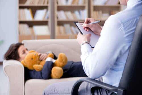 Παιδί σε συνεδρία ψυχανάλυσης